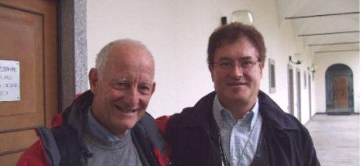 Marcello Costa con il Dottor Bonacina