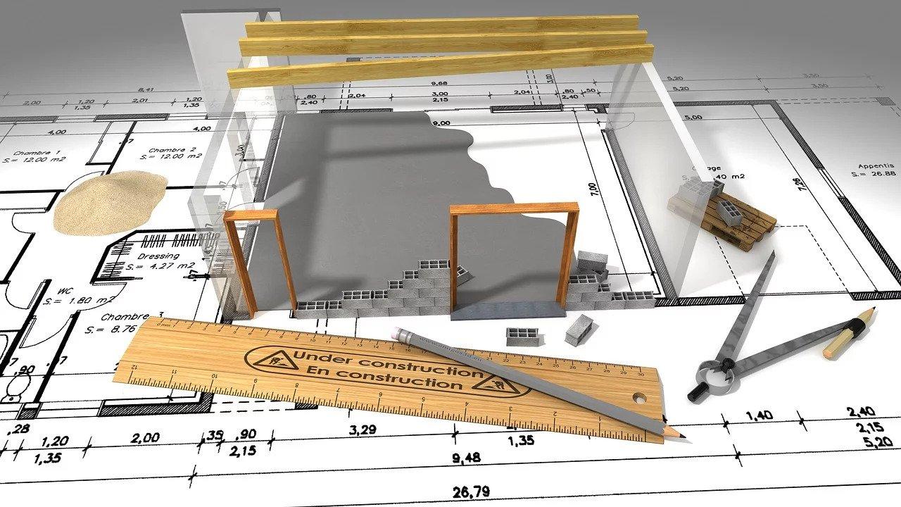 3D di un progetto edile